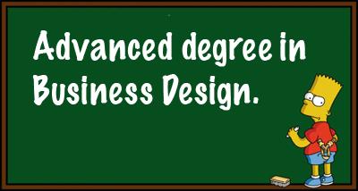 Advanced Degree in Business Design